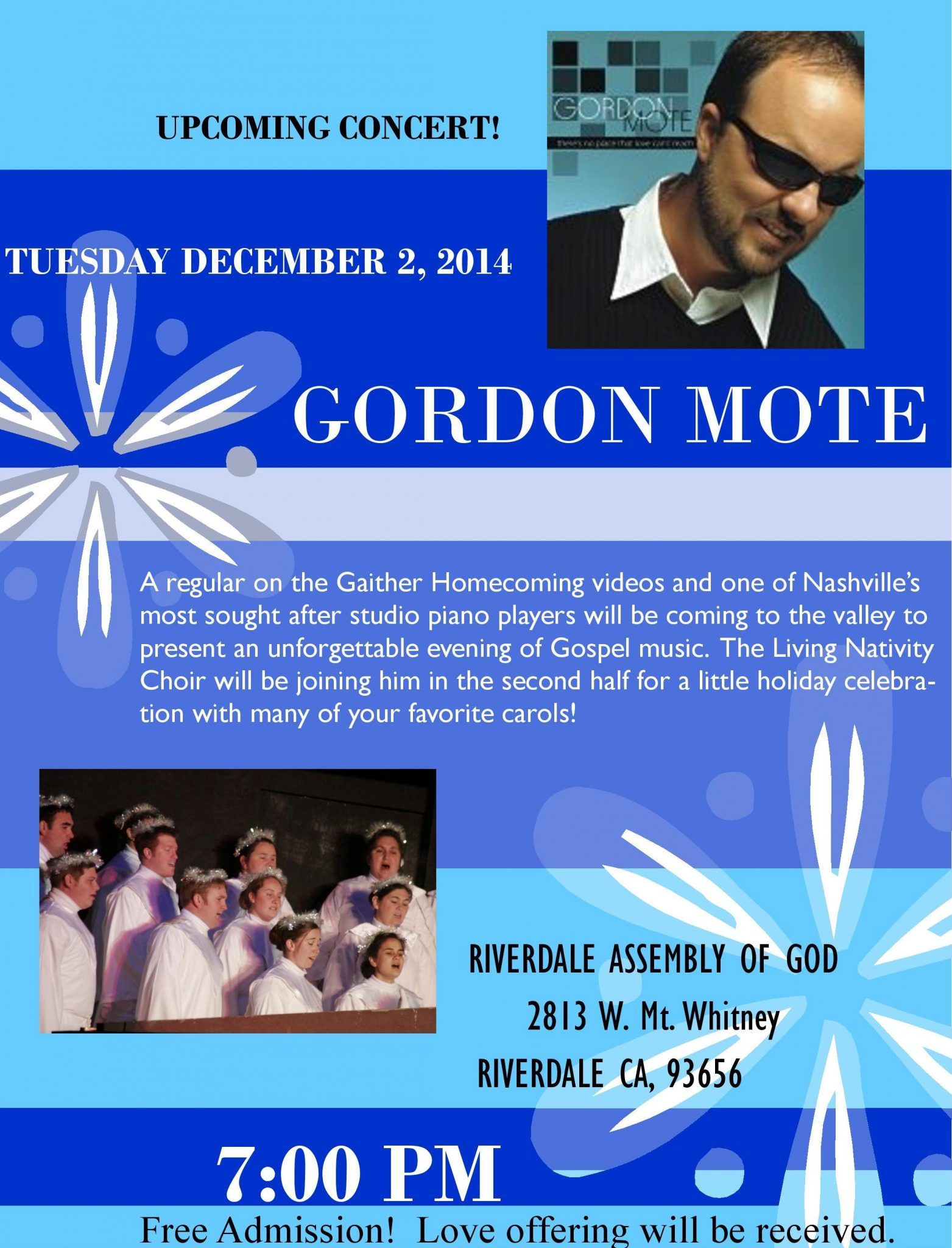 Gordon Mote Concert